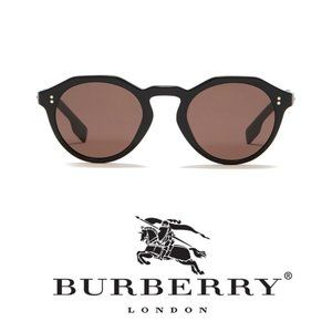 Accessories - Burberry Brown Round 48mm Sunglasses